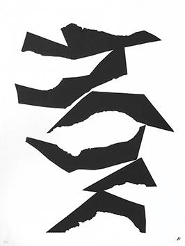 Lithographie originale de  : Composition XIII