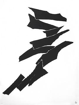 Lithographie originale de  : Composition XIV