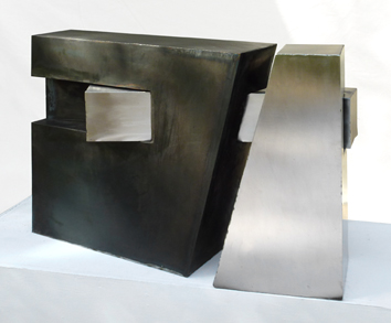 Original signed sculpture de  : Inclusion cristalline 8