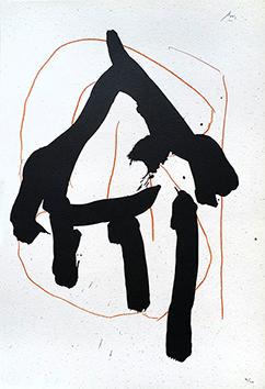 Lithographie originale signée de  : Lucrèce VII