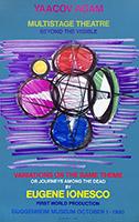 Screenprint poster de  : Guggenheim Museum - Eugène Ionesco