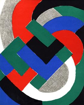 Delaunay Sonia : Litografias originales : XX� si�cle n� 32