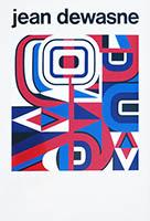 Affiche sérigraphie de  : Jean Dewasne affiche