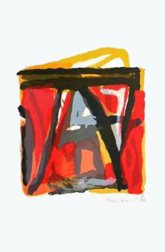 Original lithograph de  : Composition XXX