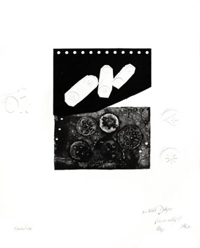 Original signed etching de  : Roi étoilé