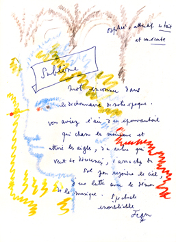 Illustrated Book de  : Homage to Jean Cocteau