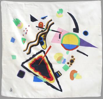 Выставка шелковых шарфов из Парижской Галереи Маг в Национальной Галерее