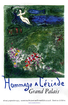 Poster de Chagall Marc : The Orchard