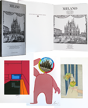 Libro con estampas de Collectif Divers : Milano