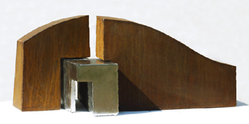 Original signed sculpture de  : Traverse d'ombre 6