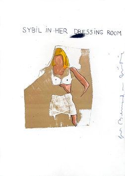 Original signed lithograph de Dine Jim : Sybil her dressing room