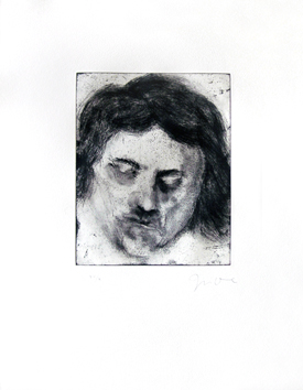 Original signed etching de Dine Jim : Mabel, Plate IX