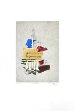 -- PRINT -- de Engel Nissan : Sailboat