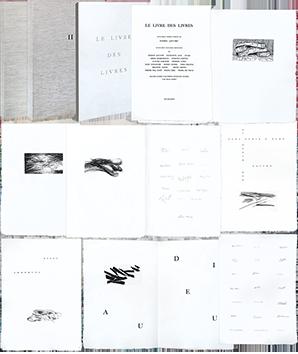 Livre avec gravures de  : Le Livre des Livres I & II
