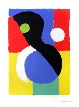 Delaunay Sonia : Serigrafia firmada : T�tulo desconocido II