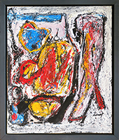 Signed single work de  : Composition without title II