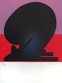 Original signed lithograph de  : Composition XIII