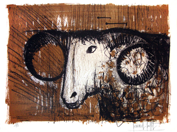 Original signed lithograph de  : The ram