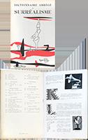 Livre illustré de  : Dictionnaire abrégé du Surréalisme