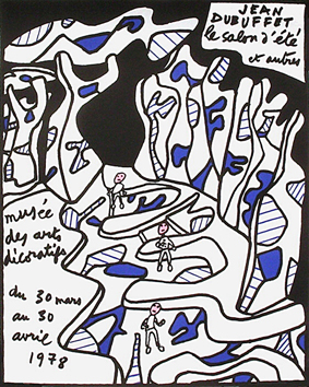 Poster de Dubuffet Jean : The summer show and others