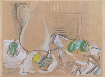 Estampe pochoir de Dufy Raoul : Nature morte