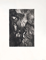 Original signed etching de Boumeester C. : Composition IX