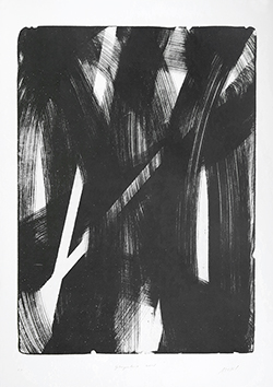 Lithographie originale signée de  : Geborgenheid