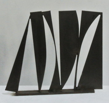 Original signed sculpture de Clément Alain : Composition XXXII