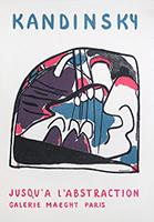 Mourlot exhibition poster de  : Jusqu'à l'abstraction II
