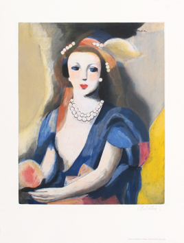 Print in reproduction de  : Woman