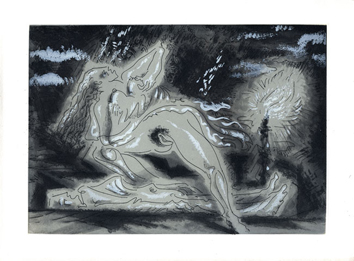 Aquatint de  : Death 1