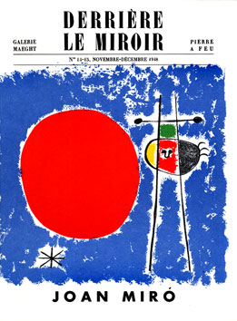 Miro Joan : DLM lithographies : DLM n° 14-15