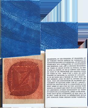 Livre avec gravures de  : Extraits des discours admirables de Bernard Palissy