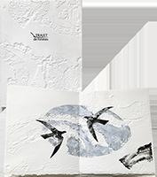 Signiertes Original-Buch de  : Trajet de l'oiseau