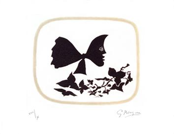 Braque Georges : Gravure originale sign�e : Ao�t - Frontispice