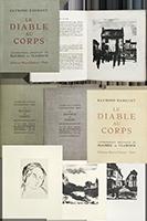 Livre avec lithographies de  : Le Diable au Corps
