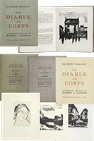 Book with lithographs de  : Le diable au corps