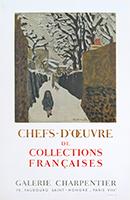 Manifesto di mostra Mourlot de  : Chefs-d'oeuvre de collections françaises