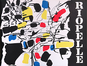 Documento original de  : Riopelle, First American Exhibition