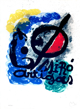Original signed lithograph de  : Miro-Artigas