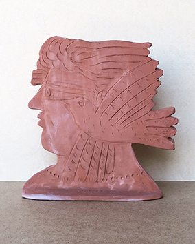 Signed sculpture de Fassianos Alekos : L'esprit