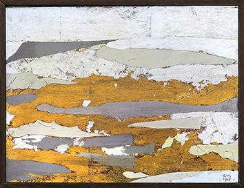 Oeuvre unique signée de  : N° 5 - 1965