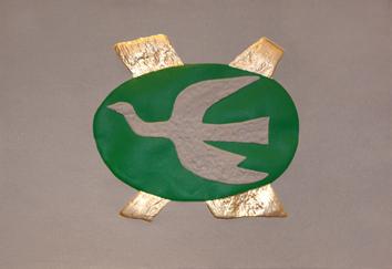 Braque Georges : Gravure d'interprétation : Oiseau II