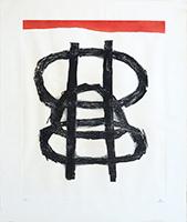 Gravure originale signée de  : Printemps
