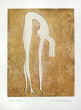 Original signed etching de  : Nude