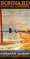 Lithographieplakat de  : Bonnard dans sa lumière