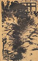 Originale Lithographie de  : Parisiennes
