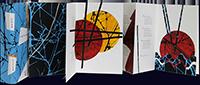 Livre avec estampes de  : Carré des météores
