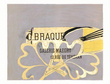 Poster de Braque Georges : Poster Maeght Gallery