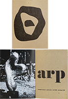 Exhibition catalogue de  : Jean Arp